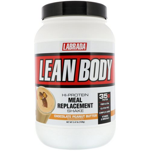 Labrada Nutrition, Lean Body, Hi-Protein Meal Replacement Shake, Chocolate Peanut Butter, 2.47 lbs (1120 g) Review