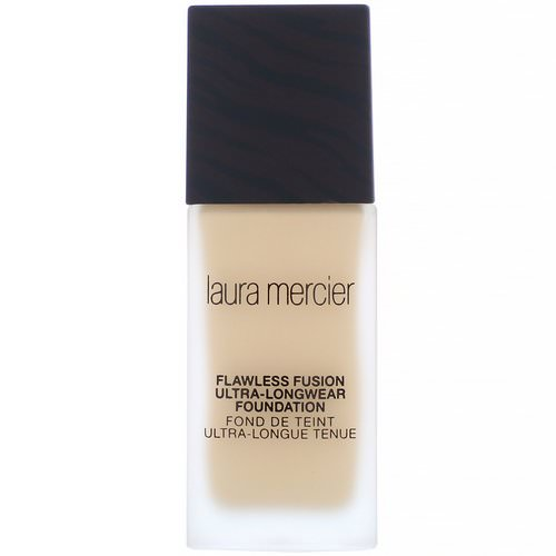 Laura Mercier, Flawless Fusion, Ultra-Longwear Foundation, 2W1 Macadamia, 1 fl oz (30 ml) Review