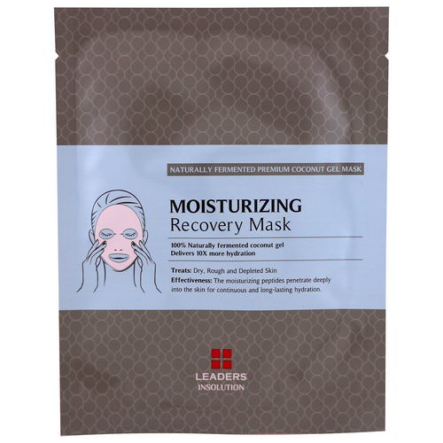 Leaders, Coconut Gel Moisturizing Recovery Mask, 1 Mask, 30 ml Review