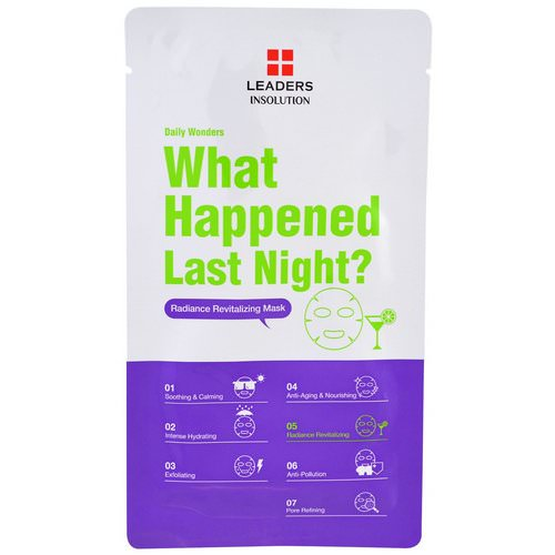 Leaders, Insolution, Daily Wonders, What Happened Last Night, 1 Mask Review