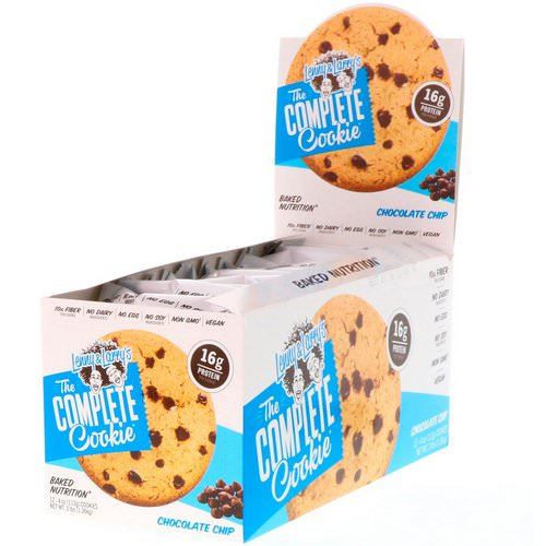 Lenny & Larry's, The Complete Cookie, Chocolate Chip, 12 Cookies, 4 oz (113 g) Each Review