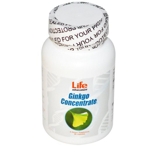Life Enhancement, Ginkgo Concentrate, 90 Capsules Review