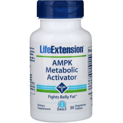 Life Extension, AMPK Metabolic Activator, 30 Vegetarian Tablets Review