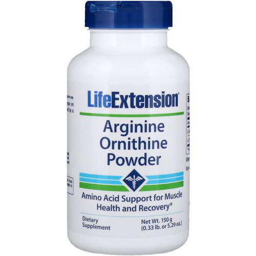 Life Extension, Arginine Ornithine Powder, 5.29 oz (150 g) Review
