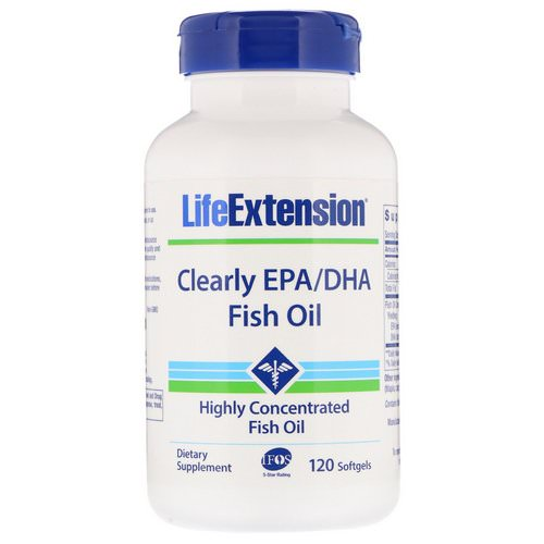 Life Extension, Clearly EPA/DHA Fish Oil, 120 Softgels Review
