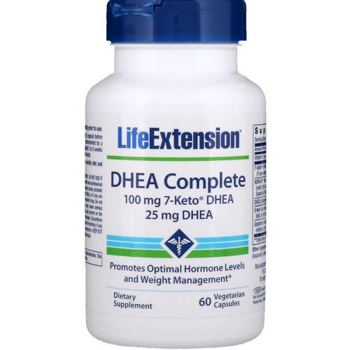 Life Extension, DHEA Complete, 60 Vegetarian Capsules Review