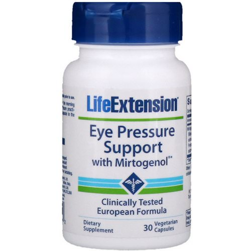 Life Extension, Eye Pressure Support with Mirtogenol, 30 Vegetarian Capsules Review