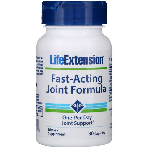 Life Extension, Fast-Acting Joint Formula, 30 Capsules Review