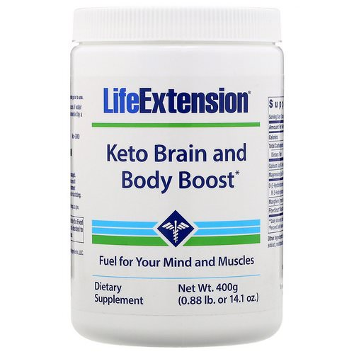 Life Extension, Keto Brain and Body Boost, 14.1 oz (400 g) Review