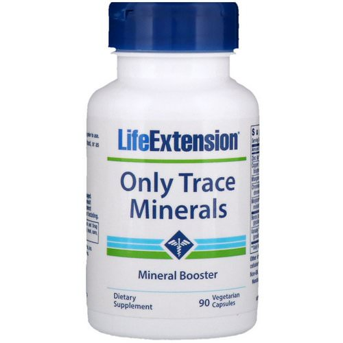 Life Extension, Only Trace Minerals, 90 Vegetarian Capsules Review