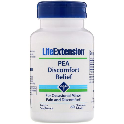 Life Extension, PEA Discomfort Relief, 60 Chewable Tablets Review