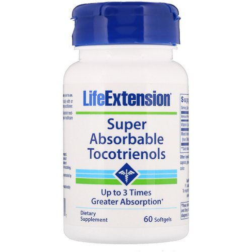 Life Extension, Super Absorbable Tocotrienols, 60 Softgels Review