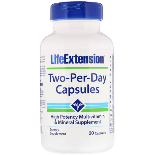 Life Extension, Two-Per-Day Capsules, 60 Capsules Review