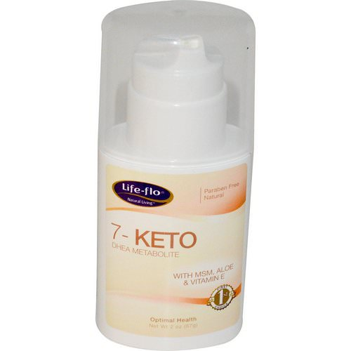 Life-flo, 7-Keto, DHEA Metabolite, 2 oz (57 g) Review