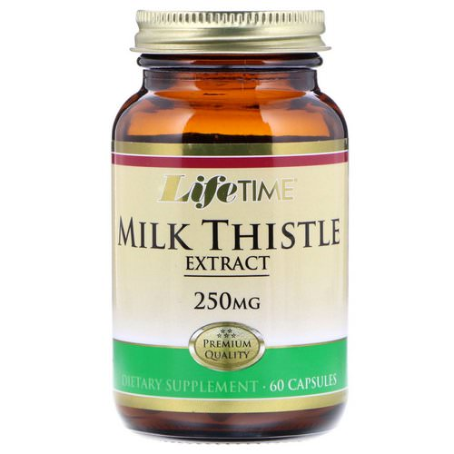 LifeTime Vitamins, Milk Thistle Extract, 250 mg, 60 Capsules Review