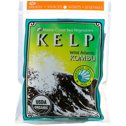 Maine Coast Sea Vegetables, Kelp, Wild Atlantic Kombu, 2 oz (56 g) Review