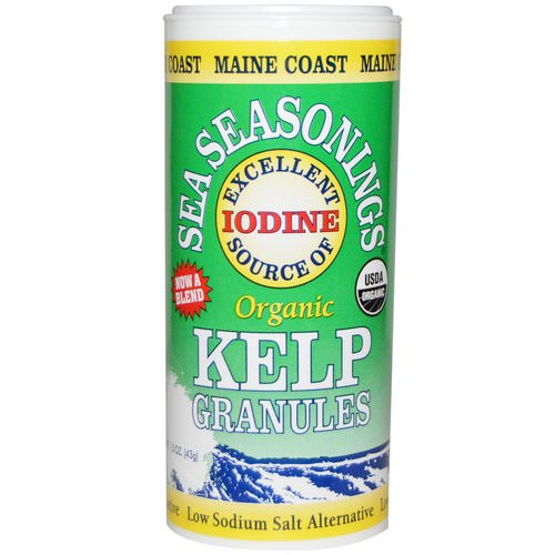 Maine Coast Sea Vegetables, Organic, Sea Seasonings, Kelp Granules, 1.5 oz (43 g) Review