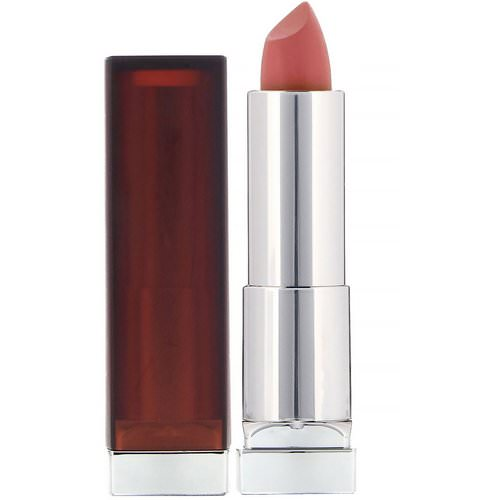 Maybelline, Color Sensational, Creamy Matte Lipstick, 656 Clay Crush, 0.15 oz (4.2 g) Review