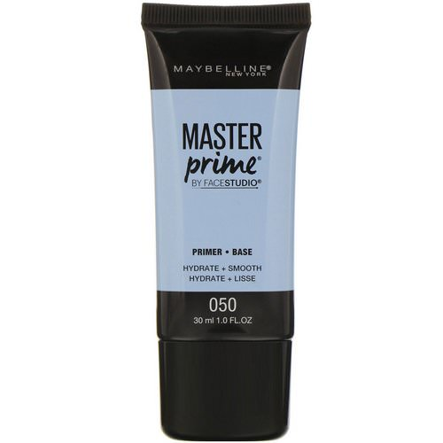 Maybelline, FaceStudio, Master Prime, Primer Base, 050 Hydrate + Smooth, 1 fl oz (30 ml) Review