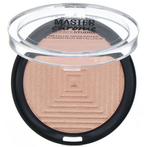 Maybelline, Master Chrome, Metallic Highlighter, Molten Peach 150, 0.19 oz (5.6 g) Review