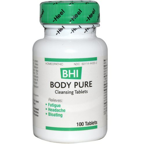 MediNatura, BHI, Body Pure, 100 Tablets Review