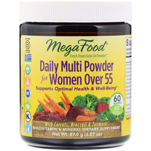 MegaFood, Daily Multi Powder for Women Over 55, 3.07 oz (87.0 g) Review