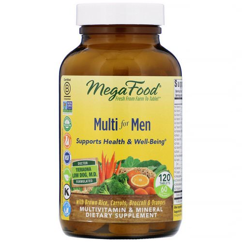 MegaFood, Multi for Men, 120 Tablets Review