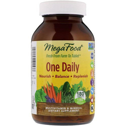 MegaFood, One Daily, 180 Tablets Review