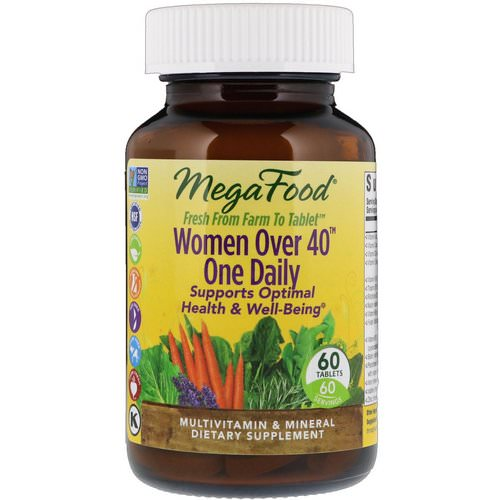 MegaFood, Women Over 40 One Daily, 60 Tablets Review
