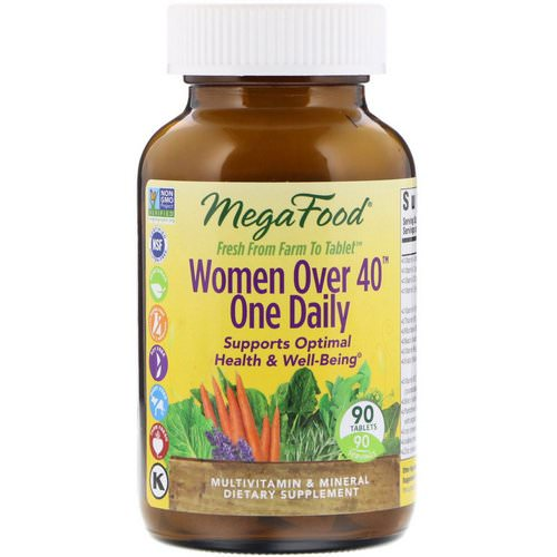 MegaFood, Women Over 40 One Daily, 90 Tablets Review