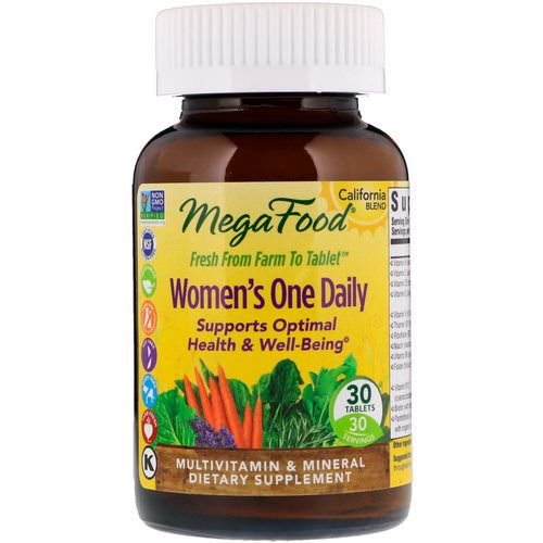 MegaFood, Women's One Daily, 30 Tablets Review