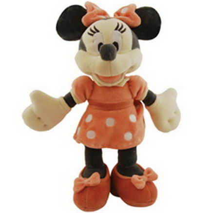 Greenpoint Brands, Disney, Organic Cotton Collection, Minnie Mouse Plush