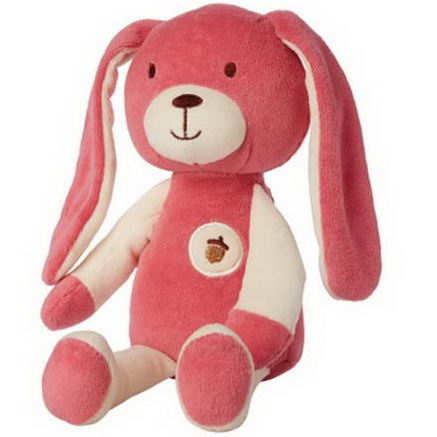 Greenpoint Brands, My Natural, My First Cuddles, Plush Bunny, Pink, 1 Toy