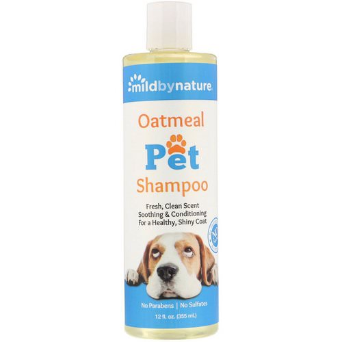 Mild By Nature, Oatmeal Pet Shampoo, 12 fl oz (355 ml) Review