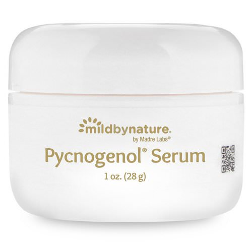 Mild By Nature, Pycnogenol Serum (Cream), Soothing and Anti-Aging, 1 oz (28 g) Review
