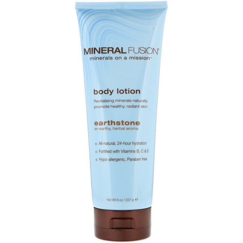 Mineral Fusion, Body Lotion, Earthstone, 8 oz (227 g) Review