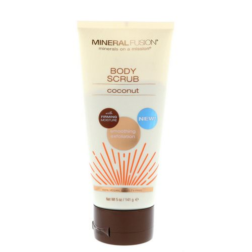Mineral Fusion, Body Scrub, Coconut, 5 oz (141 g) Review