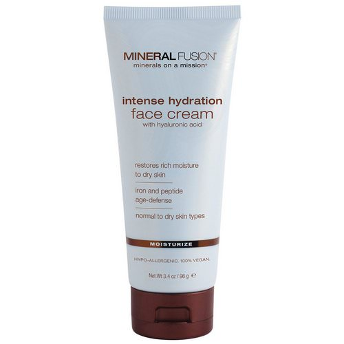 Mineral Fusion, Intense Hydration Face Cream, Moisturize, 3.4 oz (96 g) Review