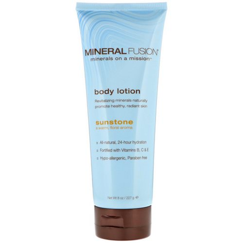 Mineral Fusion, Body Lotion, Sunstone, 8 oz (227 g) Review