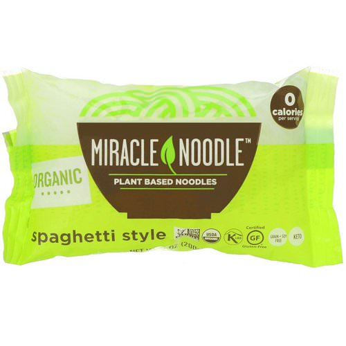 Miracle Noodle, Organic Spaghetti Style, 7 oz (200 g) Review