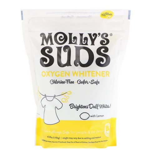 Molly's Suds, Oxygen Whitener, 41.09 oz (1.15 kg) Review