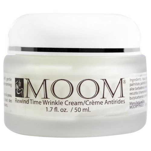 Moom, Rewind Time Wrinkle Cream, 1.7 fl oz (50 ml) Review