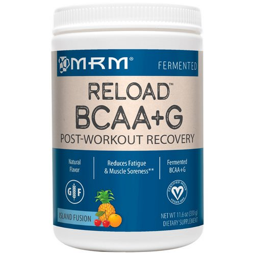 MRM, BCAA+G Reload, Post-Workout Recovery, Island Fusion, 11.6 oz (330 g) Review