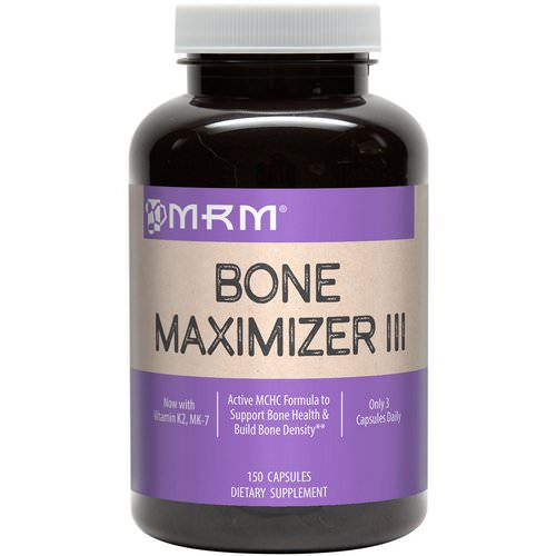 MRM, Bone Maximizer III, 150 Capsules Review