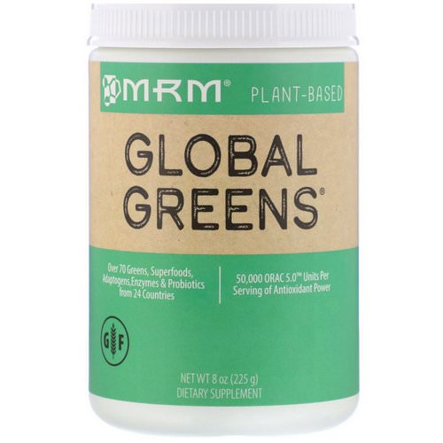 MRM, Global Greens, 8 oz (225 g) Review