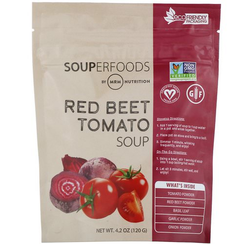 MRM, Souperfoods, Red Beet Tomato Soup, 4.2 oz (120 g) Review