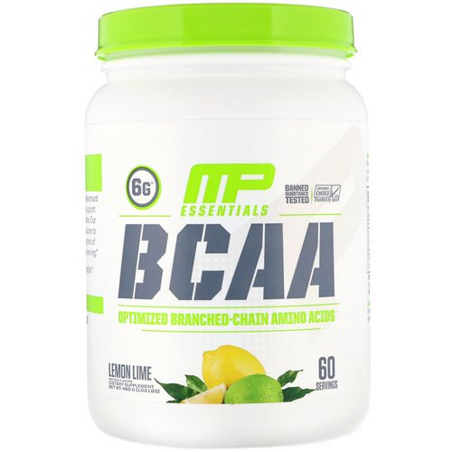 MusclePharm, BCAA Essentials, Lemon Lime, 1.03 lb (468 g) Review