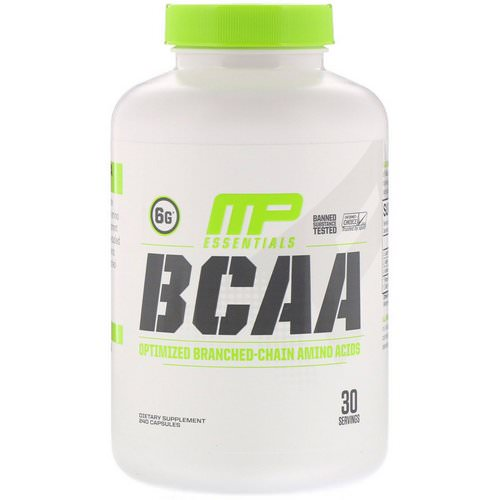MusclePharm, BCAA Essentials, 240 Capsules Review