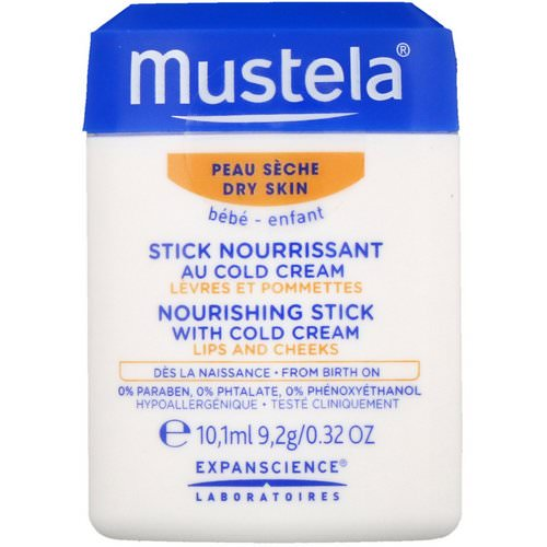 Mustela, Baby, Nourishing Stick With Cold Cream, For Dry Skin, 0.32 fl (10.1 ml) Review