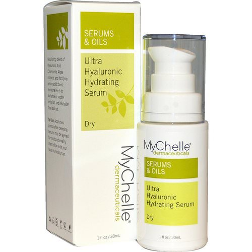 MyChelle Dermaceuticals, Ultra Hyaluronic Hydrating Serum, Dry, Step 3, 1 fl oz (30 ml) Review